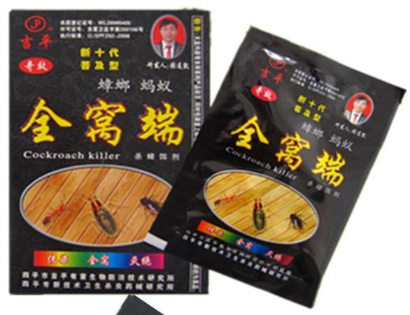 китайская отрава для тараканов