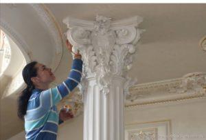 Лепнина как отличный вариант внешнего декора зданий: ее важные достоинства и особенности